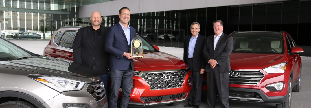 Hyundai receiving J.D. Power award for 2019 Santa Fe