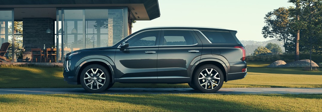Photo Gallery of Exterior Colors for New Palisade SUV
