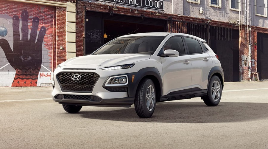 2019 Hyundai Kona SE in Chalk White
