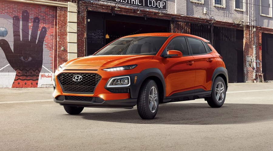 2019 Hyundai Kona SE in Sunset Orange