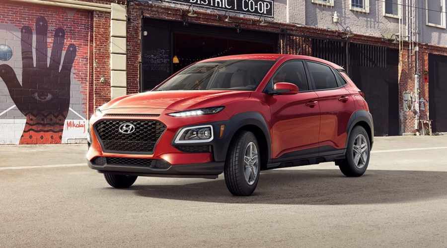 2019 Hyundai Kona SE in Pulse Red