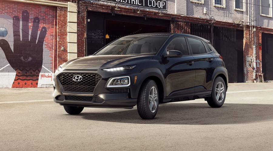 2019 Hyundai Kona SE in Ultra Black