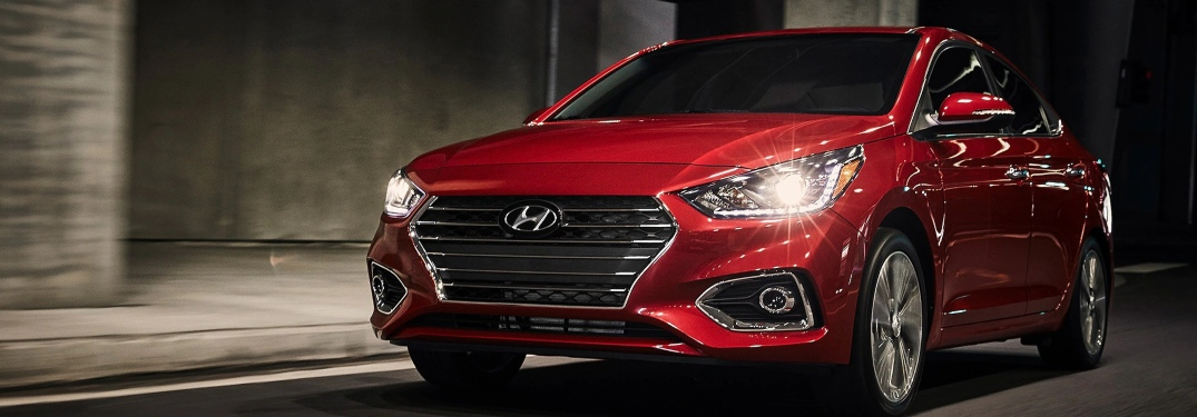Show off your style in a 2020 Hyundai Accent!