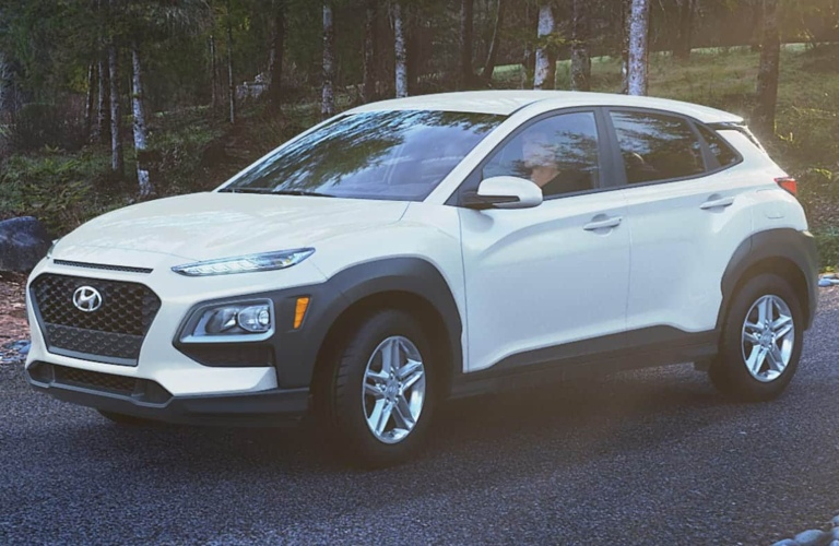 2020 Hyundai Kona Chalk White