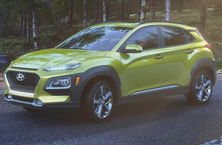 2020 Hyundai Kona Lime Twist