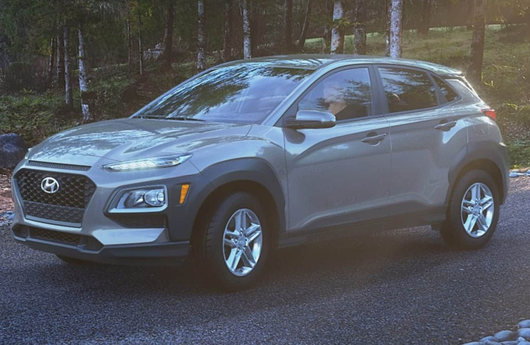 2020 Hyundai Kona Sonic Silver