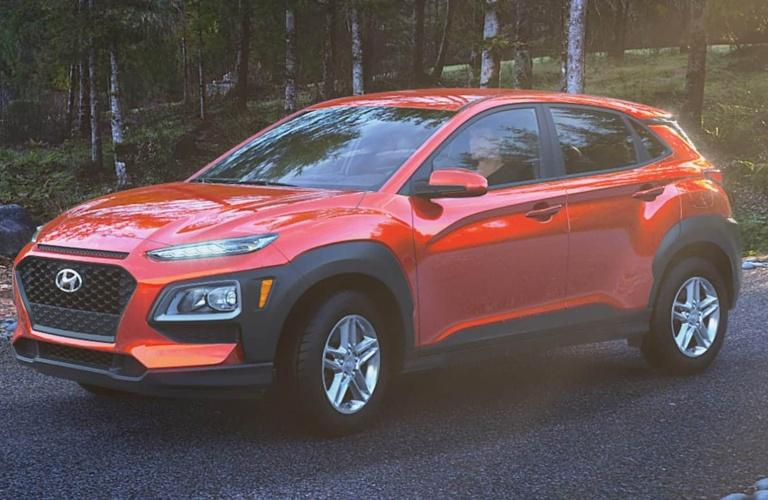 2020 Hyundai Kona Sunset Orange
