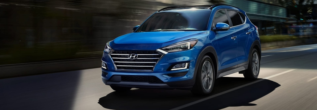 New color options now available on 2020 Hyundai Tucson