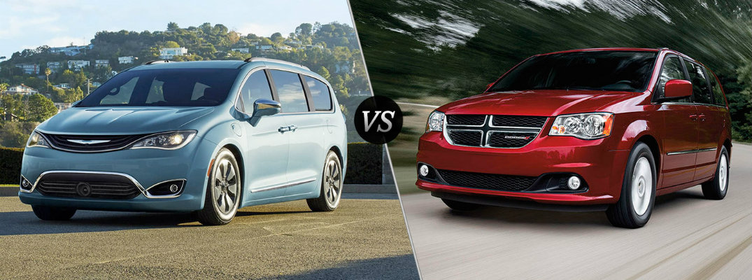 2017 Chrysler Pacifica Vs Dodge Grand Caravan