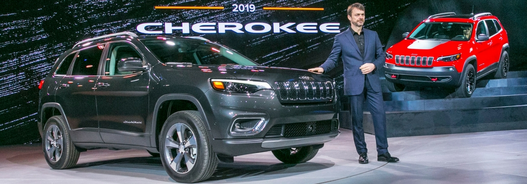 2019 Jeep Cherokee Debuts At The North American International Auto Show