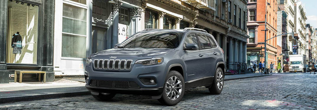 2018 Jeep Grand Cherokee parked on the street