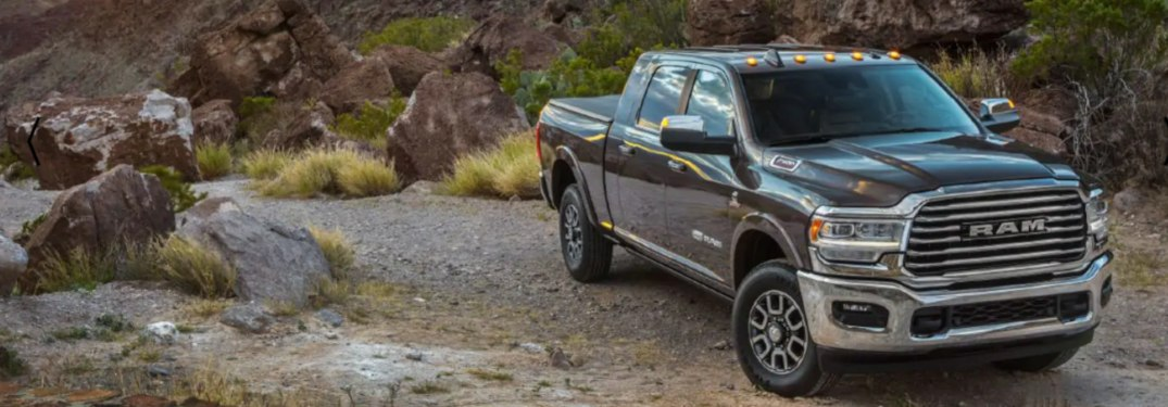 2019 Ram 2500 parked off-road