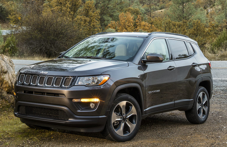 2019 Jeep Compass in driveway