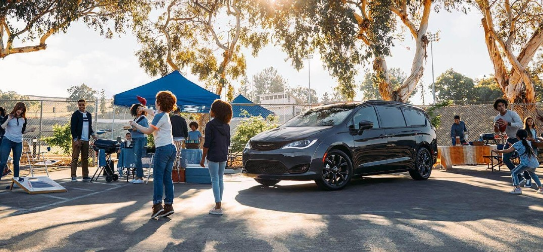 What is the Cargo Space of the 2020 Chrysler Pacifica?