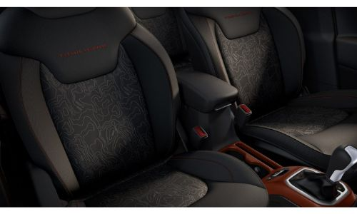 2020 Jeep Renegade Interior Showing Trailhawk seats