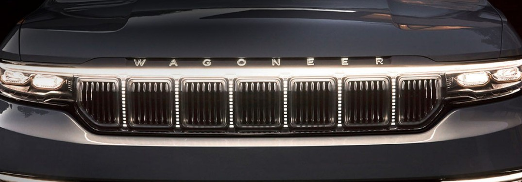 2021 Jeep Wagoneer logo taken from Jeep Grand Wagoneer concept