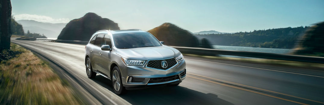 What Is The Best Luxury Row SUV - Acura mdx value