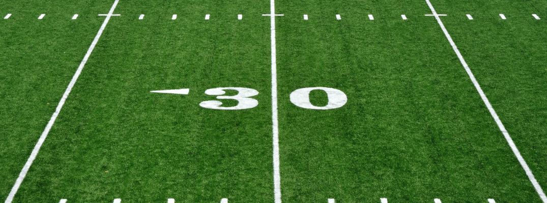 30-Yard Line on a Football Field