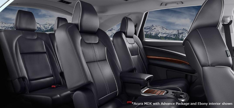 2018 Acura MDX interior seats