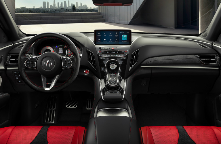2019 Acura RDX Interior Front Cockpit Design Inspirations