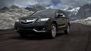2018 Acura RDX in Crystal Black Pearl