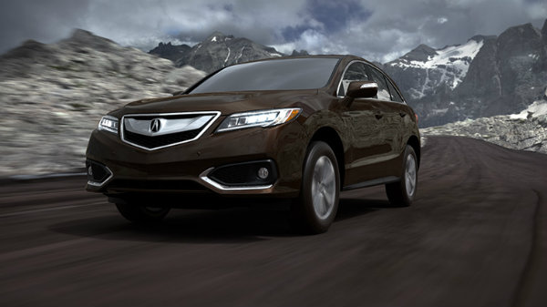 2018 Acura RDX in Kona Coffee Metallic
