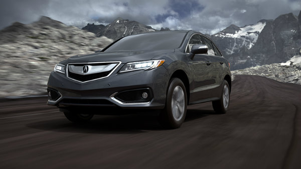 2018 Acura RDX in Modern Steel Metallic
