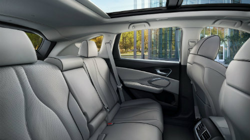 Second row of seating inside 2019 Acura RDX