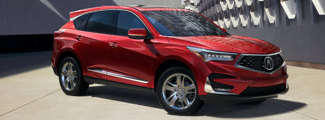 2019 Acura Rdx Interior Storage Volume And Seating Capacity