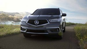 2018 Acura MDX in Modern Steel Metallic