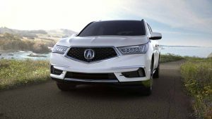 2018 Acura MDX in White Diamond Pearl