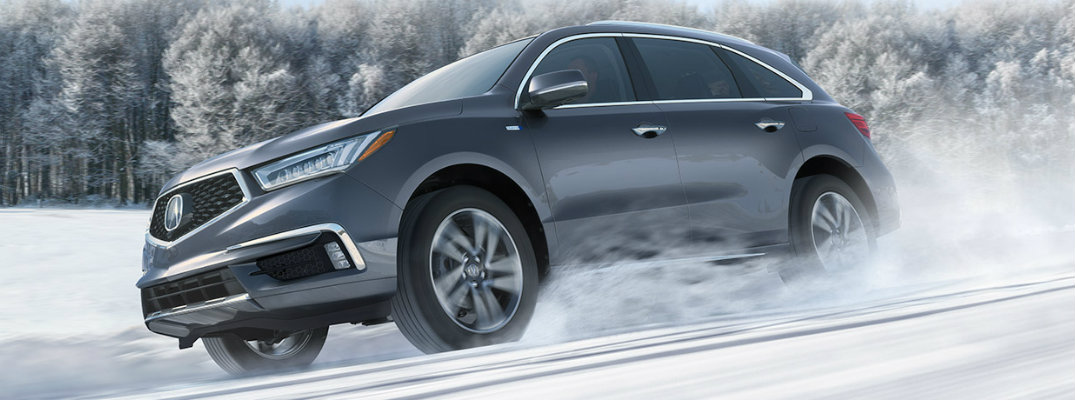 What are the recommended oil and fuel types for the 2019 Acura MDX?