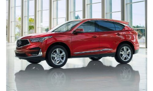 2020 Acura RDX in a warehouse