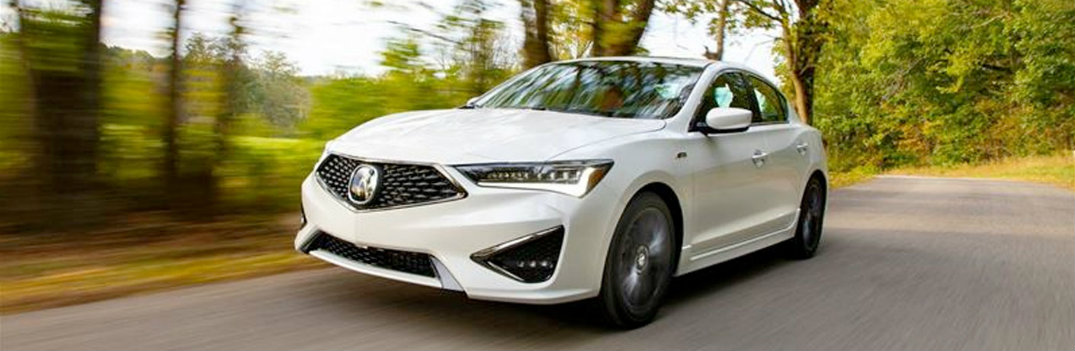 2020 Acura ILX cruising on the road
