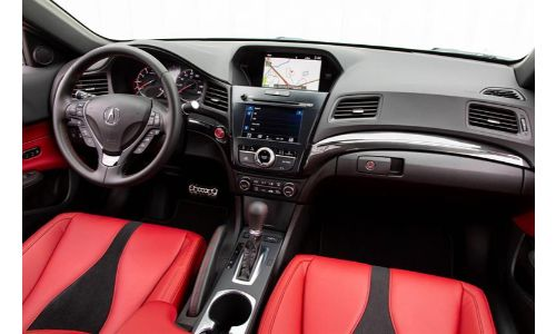 2020 Acura ILX interior view