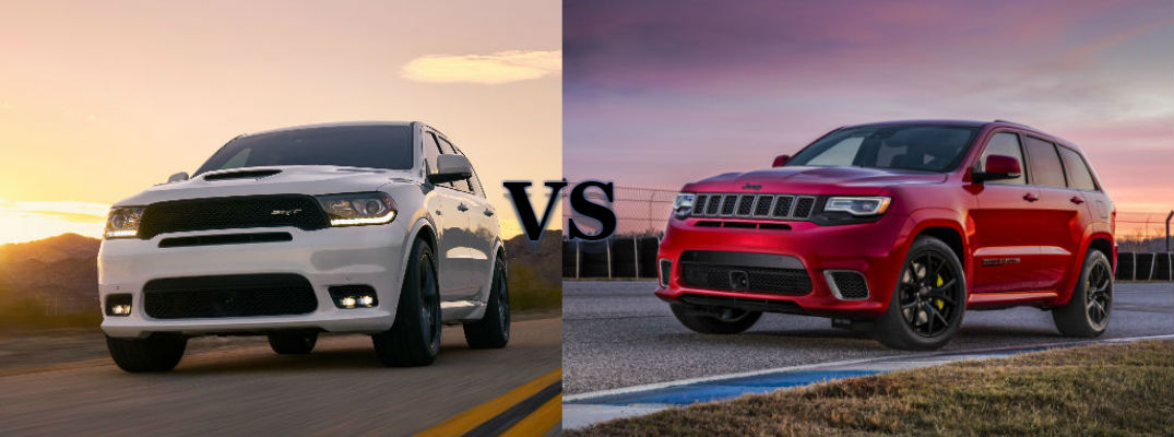 2018 jeep srt trackhawk. plain jeep the showdown  2018 dodge durango srt vs jeep grand cherokee trackhawk on jeep srt trackhawk