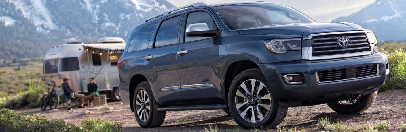 how much can the 2018 toyota sequoia tow. Black Bedroom Furniture Sets. Home Design Ideas