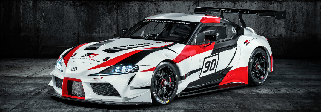 Side View of Toyota GR Supra Racing Concept