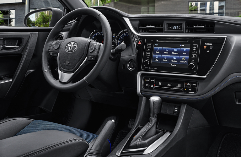 2018 Toyota Corolla Interior and Cargo Volume