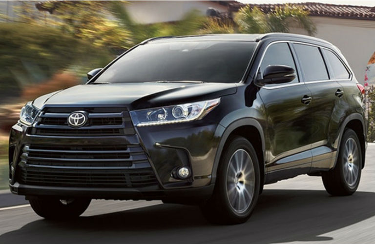 2018 Toyota Models With All Wheel Drive