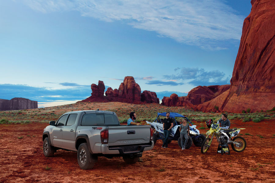 2018 Toyota Tacoma towing, efficiency and payload information