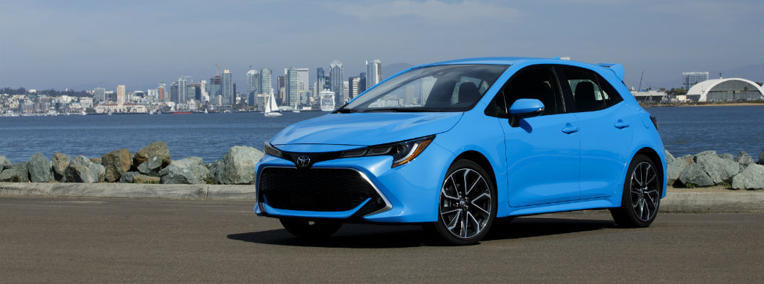 Performance specs for the 2019 Toyota Corolla Hatchback