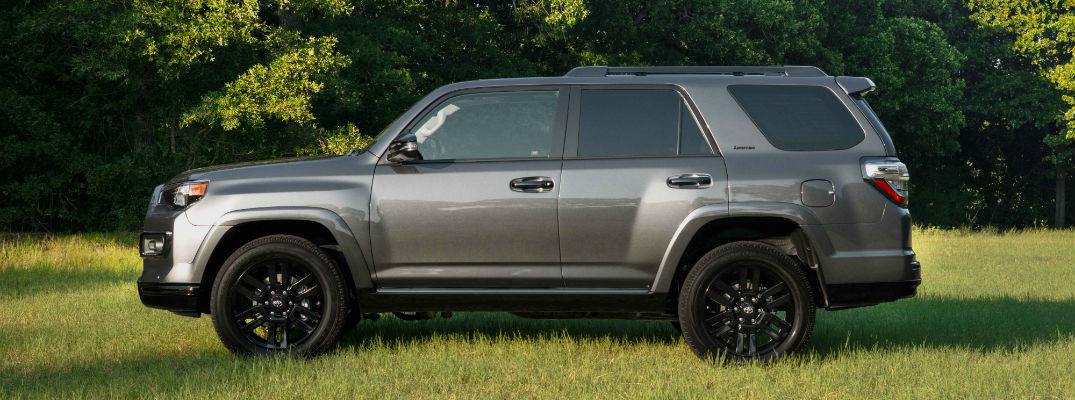 A left profile photo 2019 Toyota 4Runner Nightshade Special Edition.