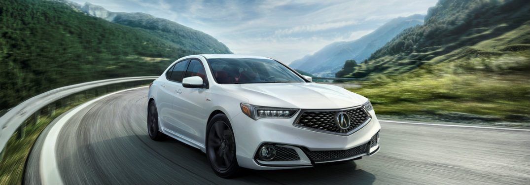 2018 Acura TLX updates and features