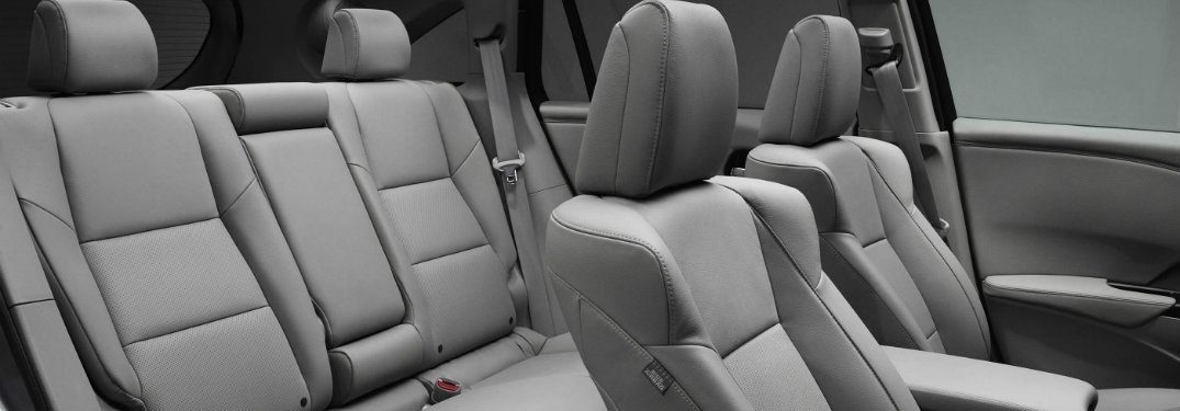 Can I get third-row seating for the 2017 Acura RDX?