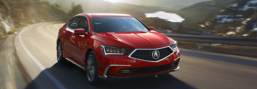 2018 Acura RLX new features and redesign
