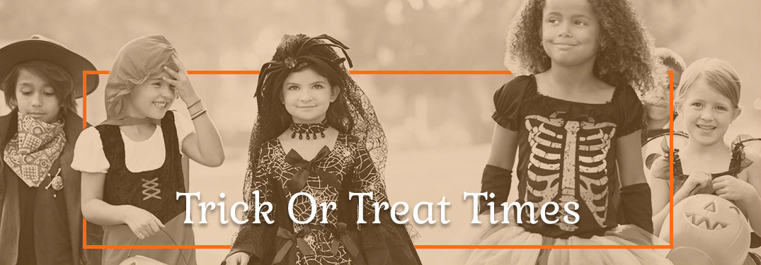What time to go trick-or-treating in Washington D.C.
