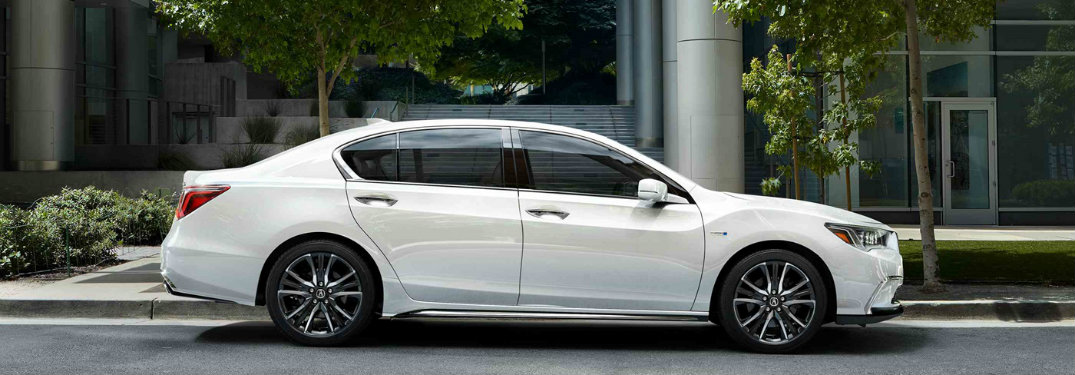 2018 Acura RLX Style and Color Options