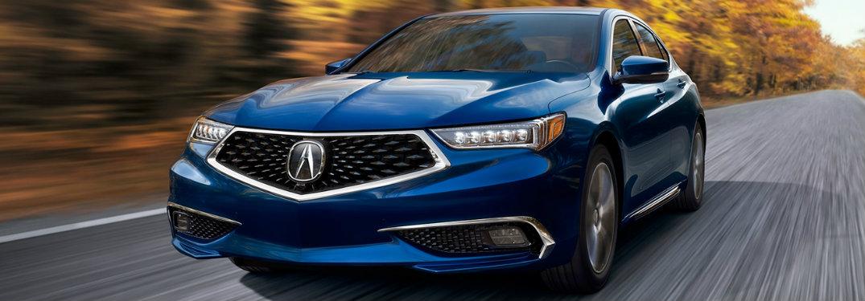 Blue 2018 Acura TLX