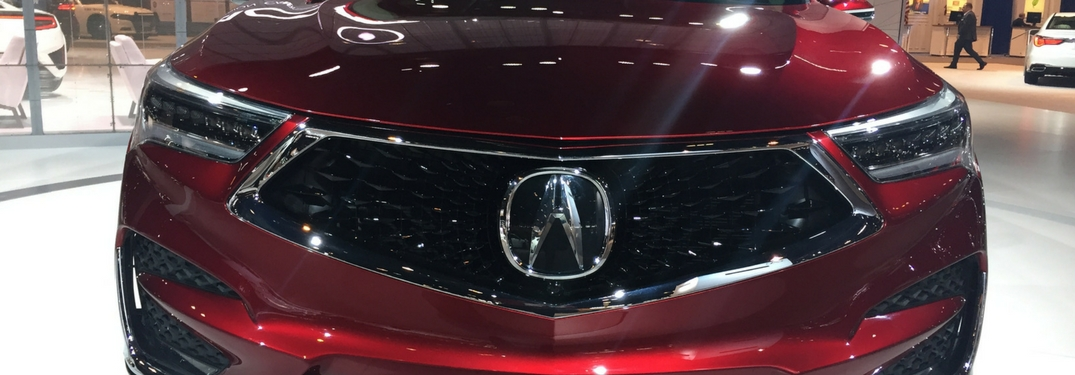 Acura Photo Gallery From 2018 Chicago Auto Show
